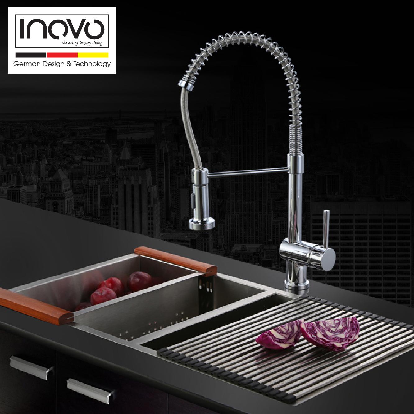 INOVO Mia Spring kitchen mixer tap - inovo