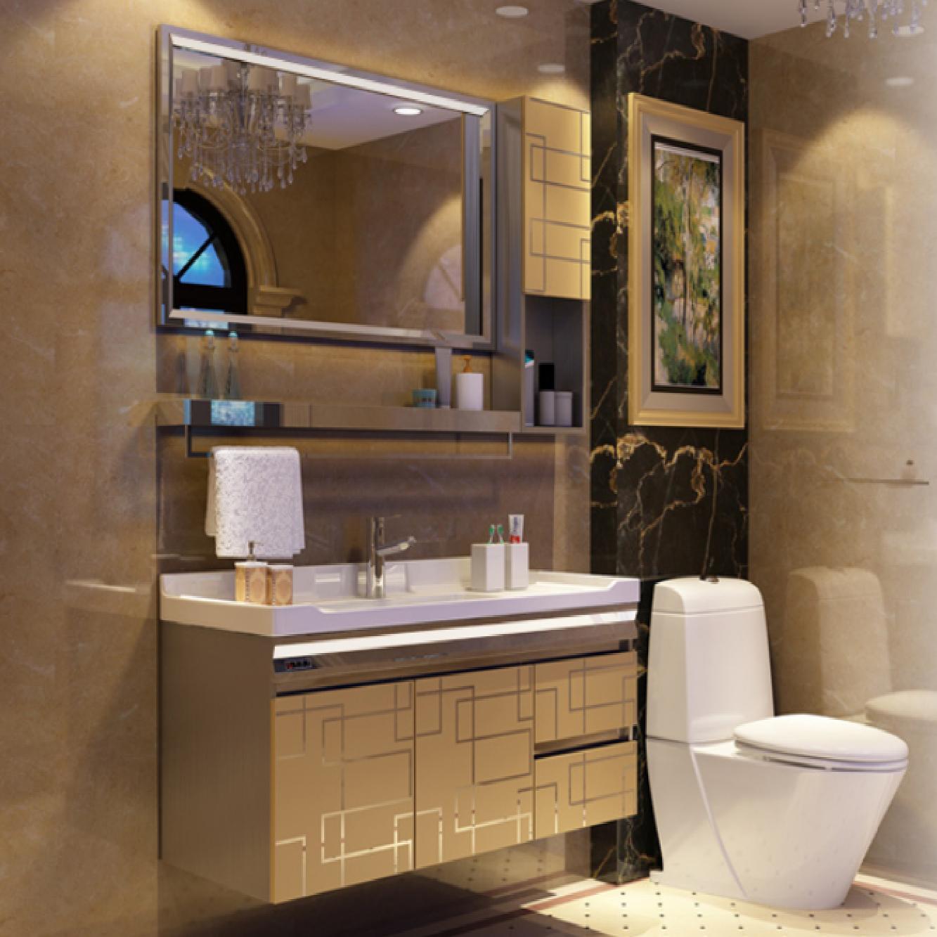 Luxury Grande Vanity Cabinet