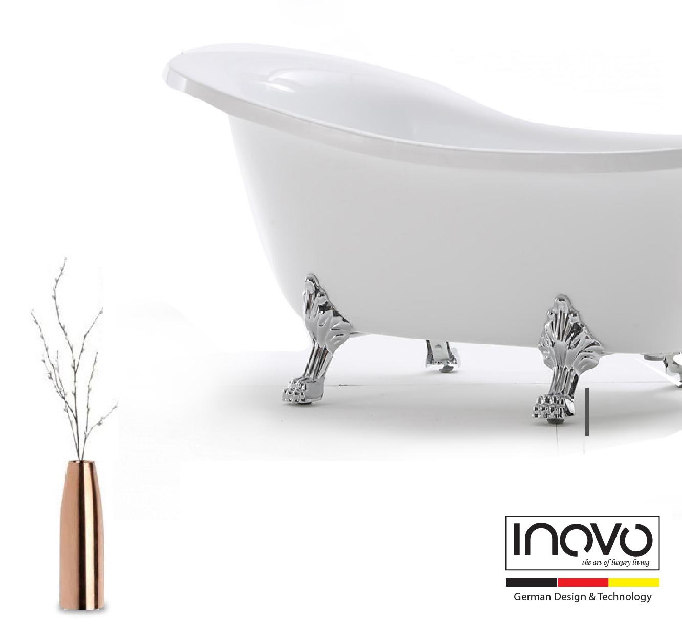 Luxury Atlantis Freestanding Bathtub Inovo